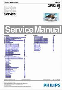 Philips 37pfl6007k Tv Service Manual And Repair