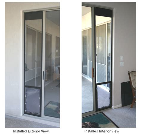 Doggie Doors For Sliding Patio Doors by Doors Power Pet Doors Install As Easily As Any