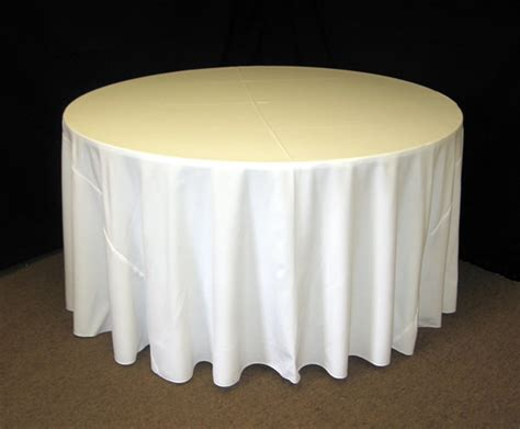 floor length tablecloth for 60 round table middle georgia tent rentals
