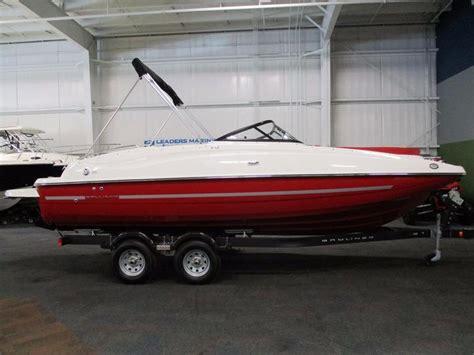 Bayliner 215 Deck Boat by 2016 New Bayliner 215 Deck Boat Bowrider Boat For Sale