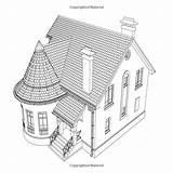 Coloring Neighborhood Adult Houses Buildings Community Ace Publishing sketch template