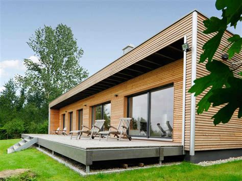 Moderner Bungalow by Moderner Bungalow Baufritz Musterhaus Net