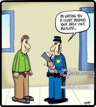 Funny Police Cartoons