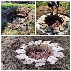 Diy, In, Ground, Fire, Pit
