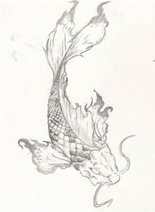 Koi Fish Tattoo by roninsamurai87.deviantart.com on ...