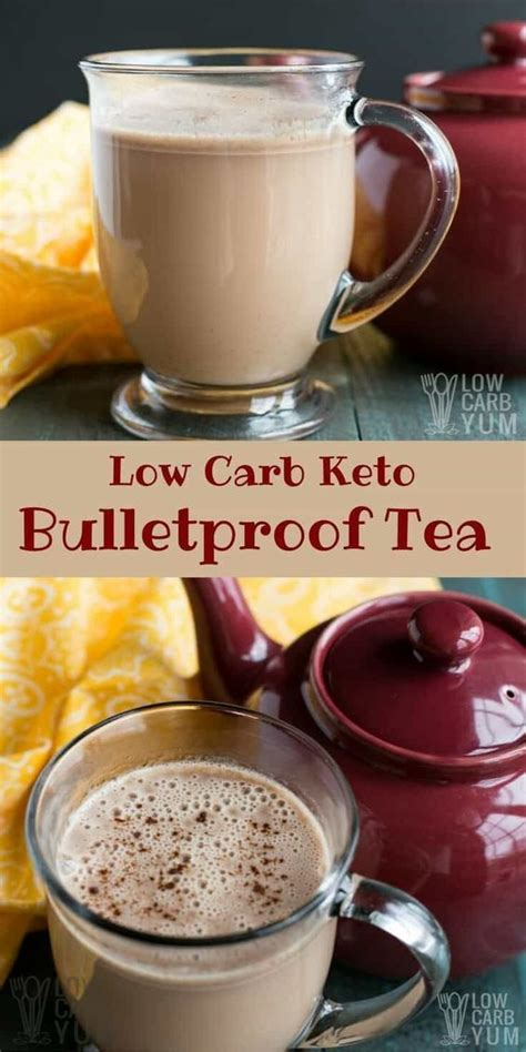 Bulletproof coffee, aka butter coffee or keto coffee, is an energizing beverage made with quality fats. A creamy keto Bulletproof tea is the perfect way to start the day if you aren't a coffee drinker ...