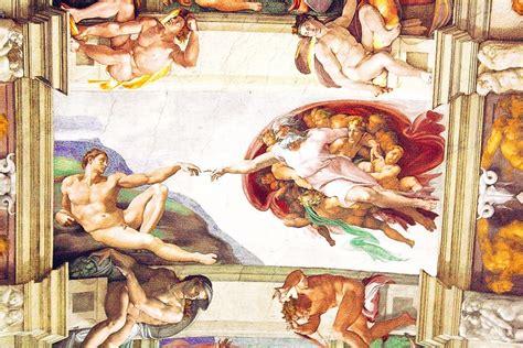 le plafond de la chapelle sixtine a la d 233 couverte de la chapelle sixtine les escapades