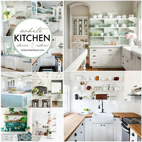 Decorating Ideas For White Kitchen by Best Diy Projects And Recipe The 36th Avenue