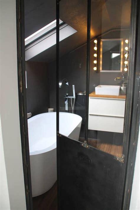 porte de salle de bain vitree salle de bain baignoire 238 lot porte verriere atelier h o m e focus bathroom