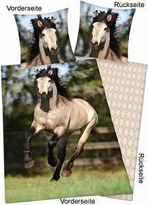 Pferde Bettwäsche Baumwolle : pferde foto bettw sche andalusier 130x200cm ~ Markanthonyermac.com Haus und Dekorationen