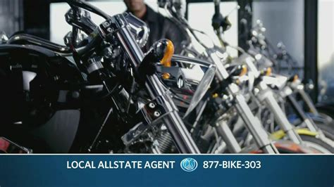 Allstate Tv Commercial For Motorcycle Insurance Featuring