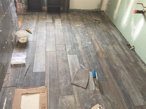 rustic wood tile look for your bathroom in toronto