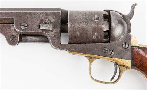lot  civil war era colt model  navy revolver