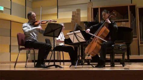 Debussy Piano Trio Mvt. 2
