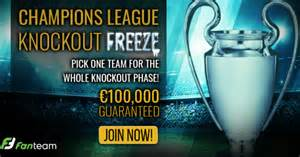 introducing   champions league knockout freeze