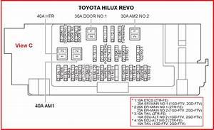 Toyota Hilux Revo Wiring