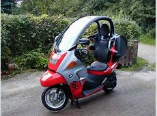 Modify Honda ActivaDeo like BMW C1 TeamBHP
