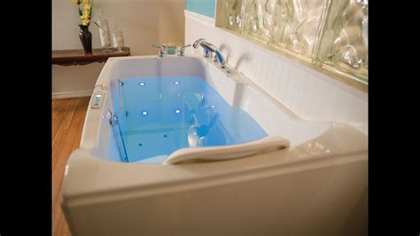caring for a tub introducing the blue walk in tub from premier care