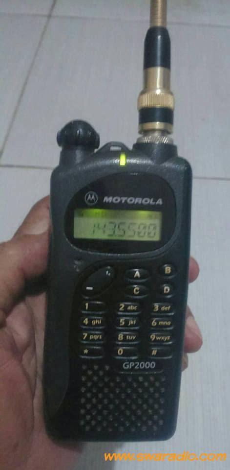 dijual ht motorola gp2000 vhf batre awet refil type li ion swaradio com