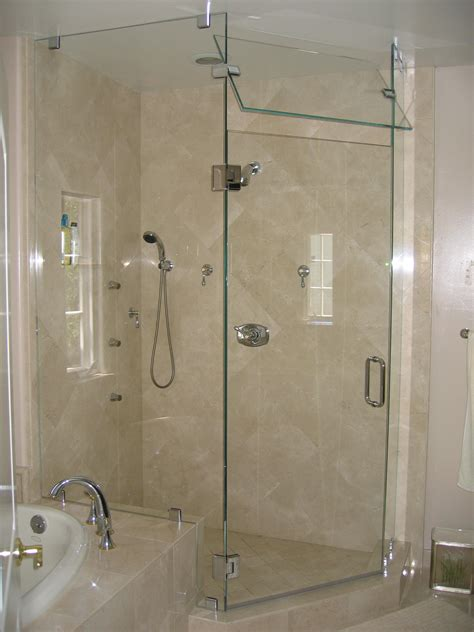 frameless shower doors installation cost with oceanside