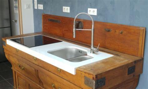 meuble cuisine ancien transformation d 39 un meuble de cuisine