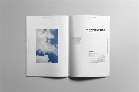 Minimalist Portfolio Book On Behance
