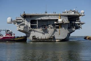 Enterprise Boat Company by Release Inactivation Of Nuclear Aircraft Carrier