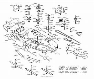 Dixon Ztr 8025  2001  Parts Diagram For Mower Deck 72 U0026quot
