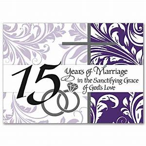 15 Years of Marriage in the Sanctifying Grace of God's ...