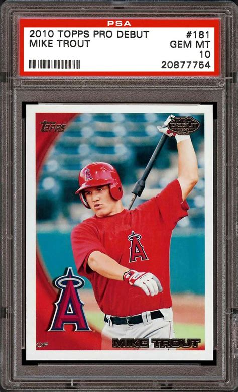 .dedicated collector of baseball cards, steiner sports is the place for authentic mlb trading cards. Baseball Cards - 2010 Topps Pro Debut | PSA CardFacts®