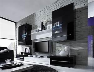 Schwarz Weiß Wohnzimmer : wohnzimmer deko wei grau ~ Orissabook.com Haus und Dekorationen
