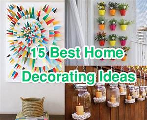 15 Easy & Cheap Home Decorating Ideas improvements - LB