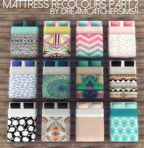 Sophia Mattress Recolours Pt 2 at DreamCatcherSims4 » Sims