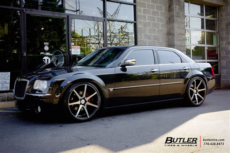 chrysler 300 with 22in savini bm10 wheels exclusively from