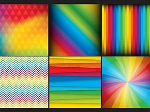 rainbow backgrounds vector graphics freevector