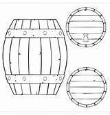 Barrel Wooden Outline Vector Illustration Drum Front Drums Snare Vectorstock Isolated Similar sketch template