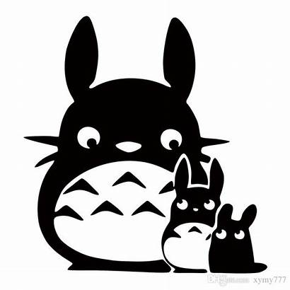 Totoro Clipart Anime Ghibli Neighbor Sticker Decal