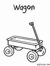 Wagon Coloring Dessin Printable Lastwagen Ausmalbilder Template Coloriage Clipart Simple Konabeun Ohbq Library sketch template