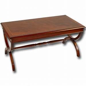 burr walnut roman coffee table With roman coffee table