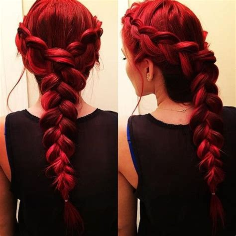 red braided hairstyles  haircut web