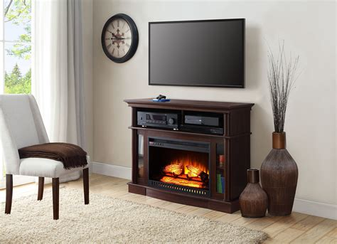 Electric Fireplace Tv Stand Media Console Heater White Chairs For Kitchen Table Mixer Tap Big Girl Small Islands Sale Space Design Walk In Pantry Ideas Island With Breakfast Bar Narrow