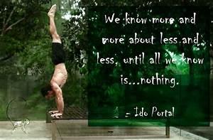 Ido Portal Quot... Fitness Movement Quotes
