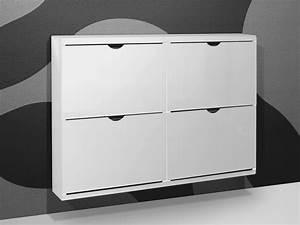 Fächer Weiß Günstig : schuhschrank schuhkipper 4 f cher metall wei ebay ~ Frokenaadalensverden.com Haus und Dekorationen