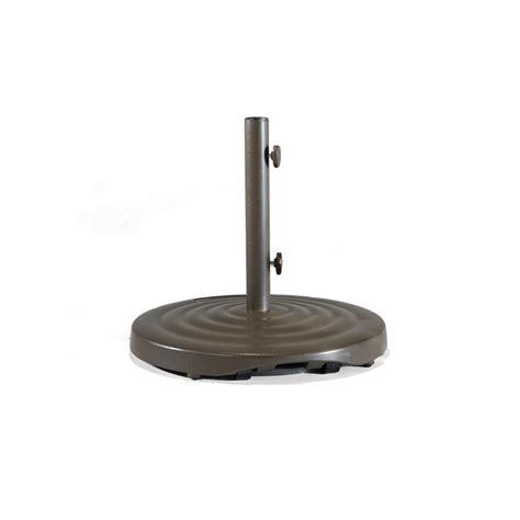cast aluminum freestanding umbrella base with