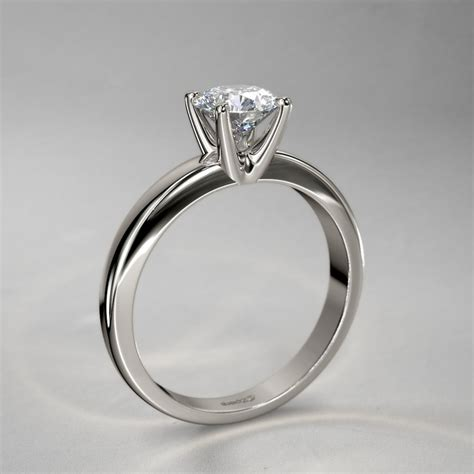 Romantic Solitaire Diamond Ring In 14k White Gold. Jeweled Bracelet. Letter L Pendant. Sterling Pendant. Mens Suit Brooch. Million Dollar Engagement Rings. Ruby Anniversary Bands. Three Ring Bands. Male Watches