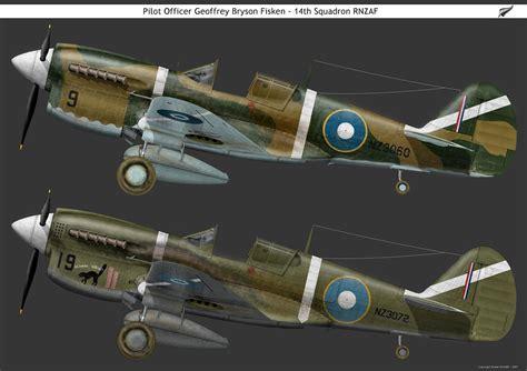 Asisbiz Artwork Curtiss P-40-Kittyhawks RNZAF 14Sqn NZ3060 ...