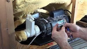 Pump Wet End Bleeder Plug Leaking How To Repair Spa Guy