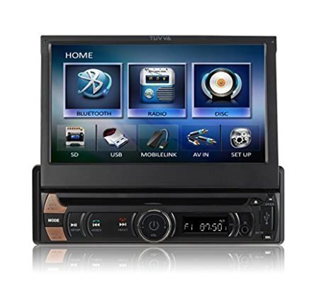moniceiver 1 din tuvva ksd7813 autoradio moniceiver in dash 1 din 7 pollici dvd cd usb sd av in mp4