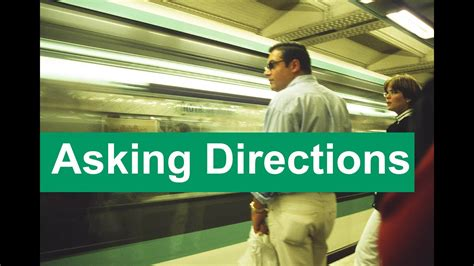 english conversation  directions youtube