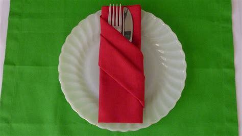 Servietten Falten Papier by Napkin Folding Buffet Pouch